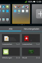 Alcatel Pixi 3 (3.5) - Startanleitung - Installieren von Widgets und Apps auf der Startseite - Schritt 4