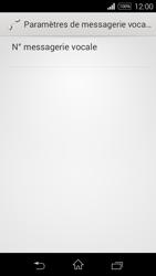 Sony D2203 Xperia E3 - Messagerie vocale - Configuration manuelle - Étape 10