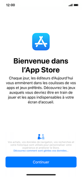 Apple iPhone X - iOS 12 - Applications - Installation d