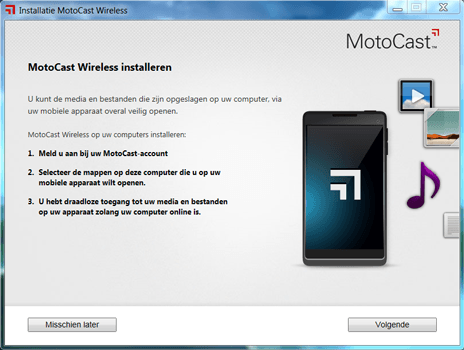 Motorola Nexus 6 - Software - Download en installeer PC synchronisatie software - Stap 5