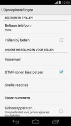 Motorola Moto G - voicemail - handmatig instellen - stap 6
