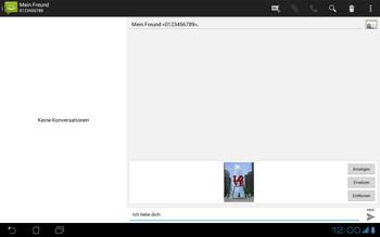 Asus Padfone - MMS - Erstellen und senden - Schritt 16