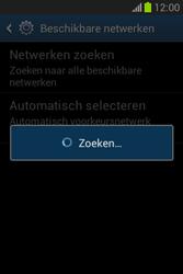 Samsung S6790 Galaxy Fame Lite - Netwerk - Handmatig netwerk selecteren - Stap 10
