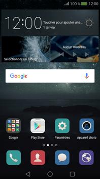 Huawei Mate S - Messagerie vocale - configuration manuelle - Étape 3