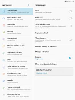 Samsung Galaxy Tab S2 9.7 - Android Nougat - Internet - Uitzetten - Stap 4