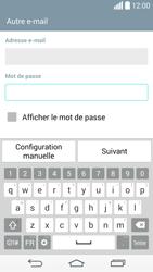 LG G3 - E-mail - configuration manuelle - Étape 7