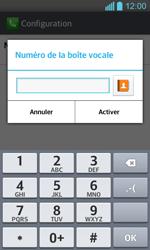 LG P710 Optimus L7 II - Messagerie vocale - configuration manuelle - Étape 9