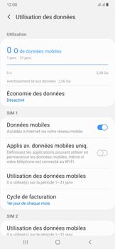 Samsung Galaxy A50 - Internet et connexion - Désactiver la connexion Internet - Étape 6