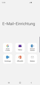 Samsung Galaxy S10 - E-Mail - Manuelle Konfiguration - Schritt 6