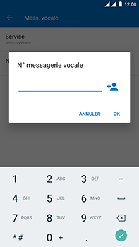 OnePlus 3 - Android Oreo - Messagerie vocale - Configuration manuelle - Étape 11