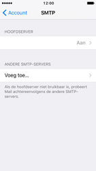 Apple iPhone SE - iOS 10 - E-mail - Account instellen (IMAP met SMTP-verificatie) - Stap 20