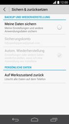 Huawei Ascend P6 - Gerät - Zurücksetzen auf die Werkseinstellungen - Schritt 5