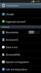 Samsung Galaxy S III - Software - Installazione degli aggiornamenti software - Fase 6