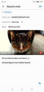 Huawei P20 - E-mail - Envoi d