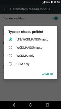 Acer Liquid Zest 4G Plus - Réseau - Changer mode réseau - Étape 7
