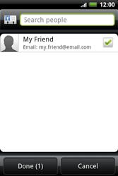 HTC A510e Wildfire S - E-mail - Sending emails - Step 6