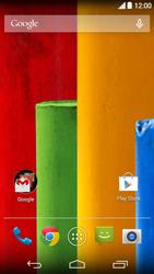 Motorola Moto G (1st Gen) (Kitkat) - Internet - automatisch instellen - Stap 1
