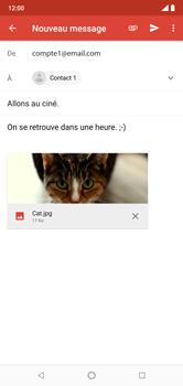 Nokia 7.1 - E-mails - Envoyer un e-mail - Étape 16