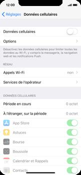 Apple iPhone X - Internet - activer ou désactiver - Étape 5