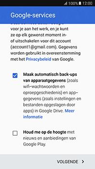 Samsung Galaxy J7 (2016) (J710) - apps - account instellen - stap 18