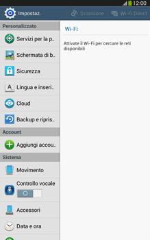 Samsung Galaxy Tab 3 8-0 LTE - Dispositivo - Ripristino delle impostazioni originali - Fase 5
