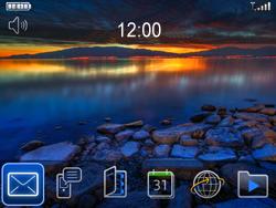 BlackBerry 9700 Bold - E-mail - E-mails verzenden - Stap 1