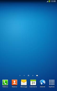 Samsung Galaxy Tab 3 8-0 LTE - Operazioni iniziali - Installazione di widget e applicazioni nella schermata iniziale - Fase 11