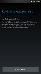 HTC One Mini - Apps - Konto anlegen und einrichten - 20 / 24