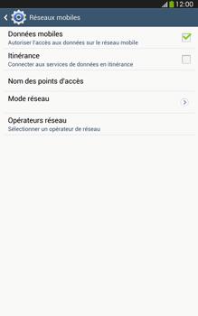Samsung Galaxy Tab 3 8-0 LTE - Internet et roaming de données - Désactivation du roaming de données - Étape 7