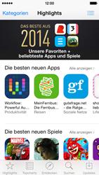Apple iPhone 5s - iOS 8 - Apps - Nach App-Updates suchen - Schritt 3