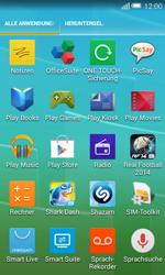 Alcatel OT-5050X Pop S3 - Apps - Konto anlegen und einrichten - Schritt 3