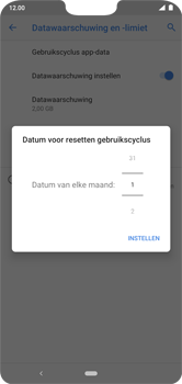 Nokia 7.1 - Android Pie - internet - mobiele data managen - stap 8