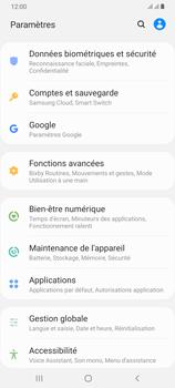 Samsung Galaxy A70 - Prise en main - Comment ajouter une langue de clavier - Étape 4