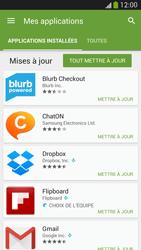 Samsung Galaxy S 4 Active - Applications - Comment vérifier les mises à jour des applications - Étape 6