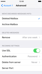 Apple iPhone SE - E-mail - manual configuration - Step 21