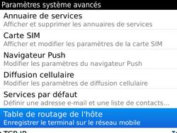 BlackBerry 9900 Bold Touch - Paramètres - Reçus par SMS - Étape 6