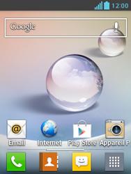 LG E430 Optimus L3 II - Internet - configuration automatique - Étape 1