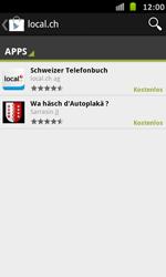 Samsung Galaxy S Advance - Apps - Installieren von Apps - Schritt 6
