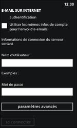 Nokia Lumia 800 / Lumia 900 - E-mail - Configuration manuelle - Étape 14