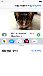 Apple iPhone 5s - iOS 12 - MMS - Erstellen und senden - Schritt 15