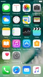 Apple iPhone 5s iOS 10 - Operazioni iniziali - Personalizzazione della schermata iniziale - Fase 2