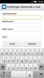 Alcatel OT-5036X Pop C5 - E-mail - Account instellen (IMAP zonder SMTP-verificatie) - Stap 8