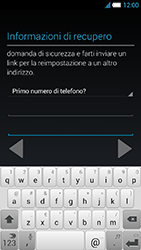 Alcatel One Touch Idol S - Applicazioni - Configurazione del negozio applicazioni - Fase 15