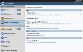 Samsung Galaxy Tab 3 10-1 LTE - Netzwerk - Manuelle Netzwerkwahl - Schritt 5