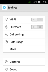 Alcatel Pixi 3 (3.5) - WiFi - WiFi configuration - Step 4