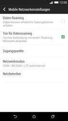 HTC Desire 620 - Netzwerk - Netzwerkeinstellungen ändern - Schritt 5