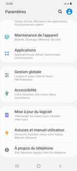 Samsung Galaxy S20 5G - Téléphone mobile - Réinitialisation de la configuration d