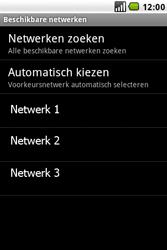 LG GW620 - Netwerk - gebruik in het buitenland - Stap 11