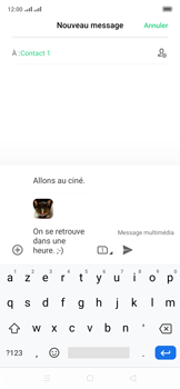 Oppo Reno 2Z - Contact, Appels, SMS/MMS - Envoyer un MMS - Étape 21