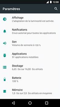 Motorola Moto E4 Plus - Applications - Supprimer une application - Étape 4